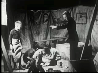 Authoritarian leadership example, from the film Experimental Studies in the Social Climates of Groups (1940s) (Prelinger Archive, and YouTube, 29min)