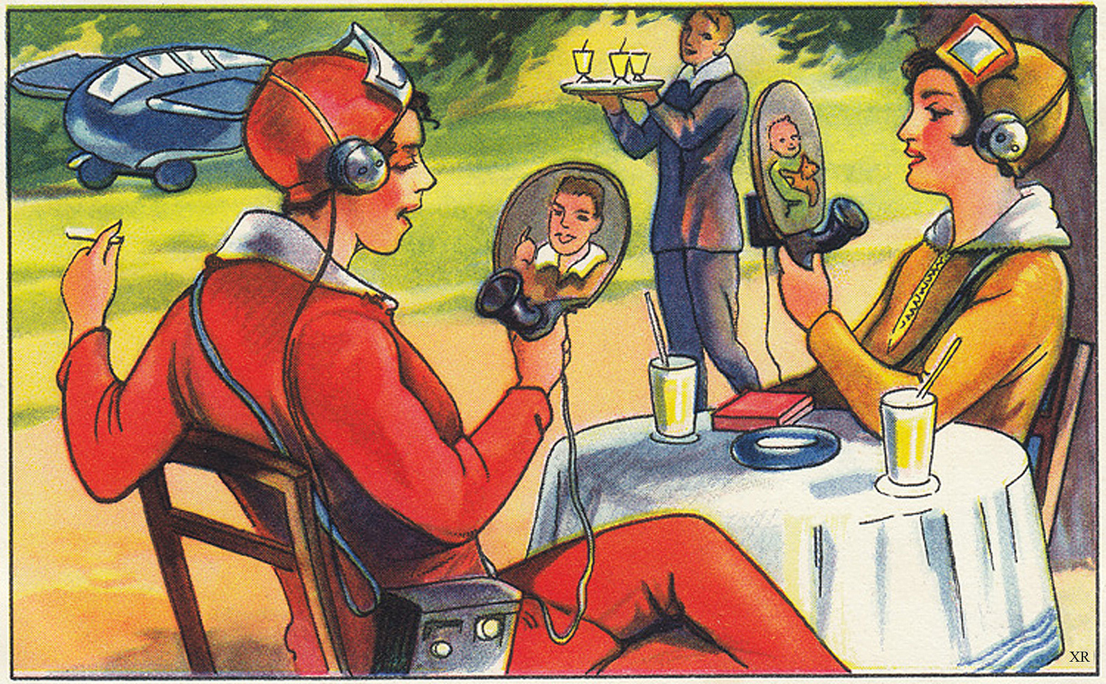 Wireless Videophone Concept, 1930s