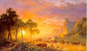 Albert Bierstadt, The Oregon Trail (1869)