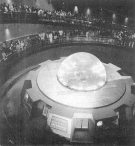 GE and Walt Disney's Public Demonstration of Nuclear Fusion, Progressland exhibit, New York World's Fair, 1964-1965. Source: © Business Week, 3.21.1964