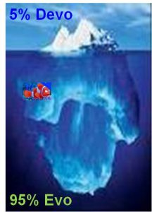 "The ""Foresight Iceberg"" (The 95/5 Rule)"