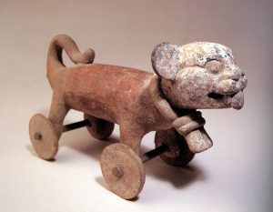 Mesoamerican Wheeled Toy Animal Source: Smith, Wide Urban World (2014)