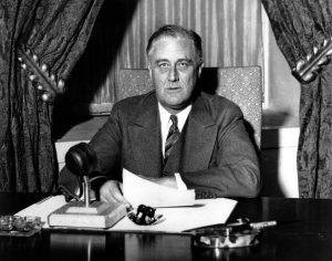President Franklin Roosevelt in 1938
