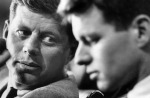 John and Bobby Kennedy (1962)
