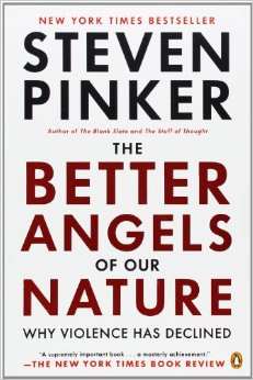 Pinker (2011). One of the best and most courageous books of the 21st Century, so far.